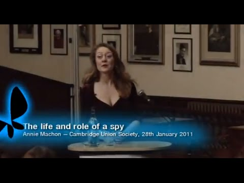Annie Machon - Cambridge Talk January 2011
