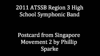 Postcard from Singapore Movement 2 by Phillip Sparke