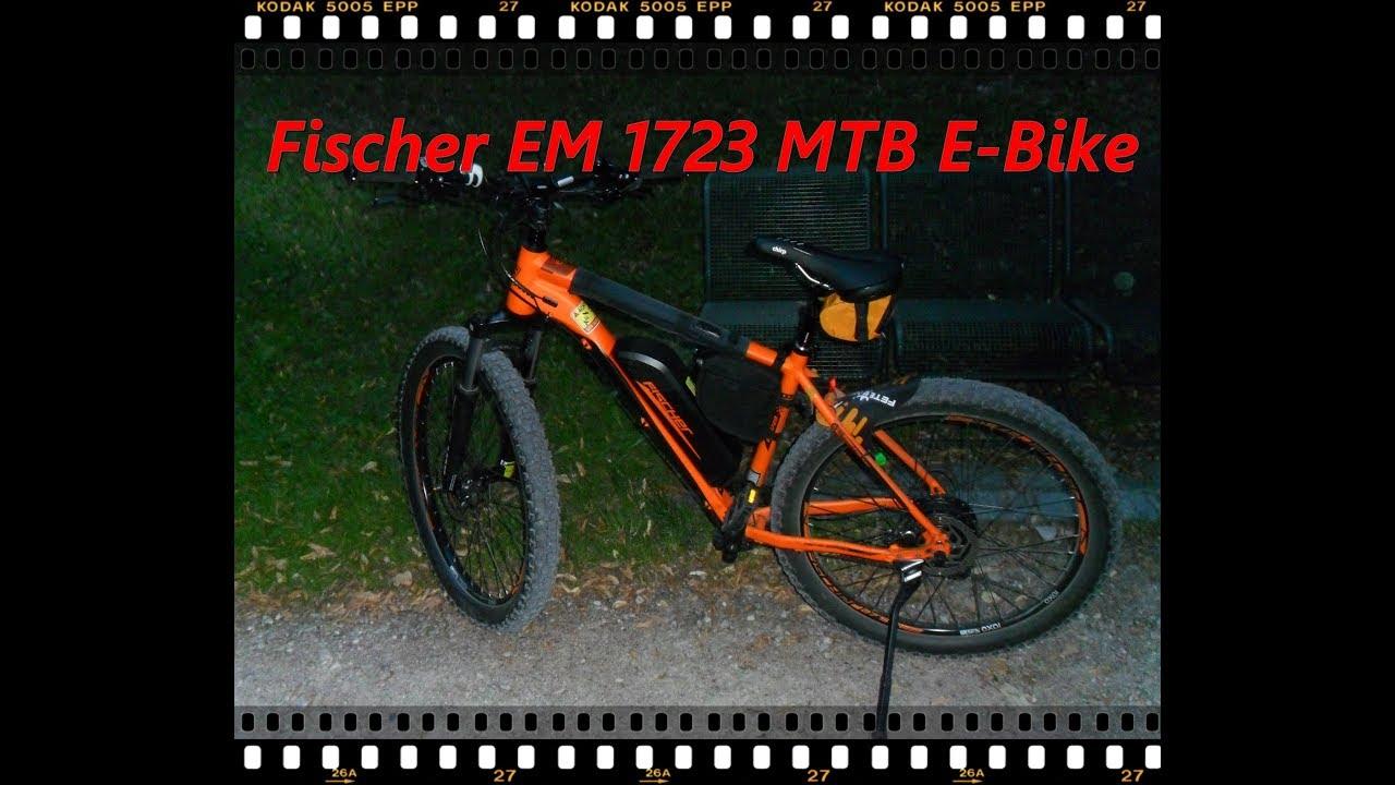 Fischer EM 1723 MTB Pedelec nach 750Km Matinee ...
