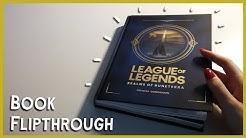 [LoL] League of Legends Realms of Runeterra - Book Flip Through