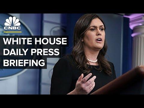 President Trump Addresses White House Press Corps –Thursday, Jan. 3, 2018