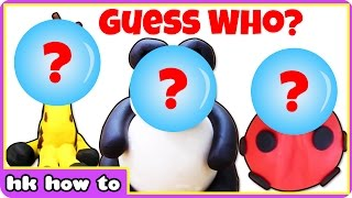 Guess The Play Doh Animals | Learn Animals With Play Doh by HooplaKidz How To