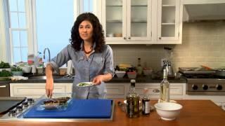 How To Make A Portobello Mushroom Cheeseburger