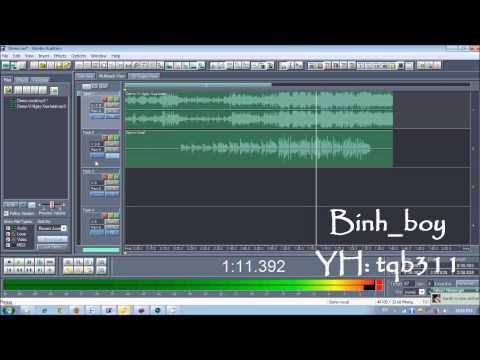 Hướng dẫn mix nhạc bằng Adobe Audition 1.5