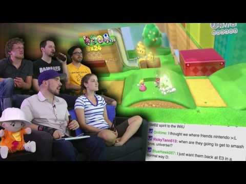 Super Mario 3D World and Mario Kart 8! - Nintendo at E3 2013 is AWESOME! - Part 2