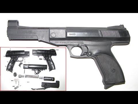 Супер оружейка(№34) - Пневматический пистолет GAMO Р- 800  4,5мм.