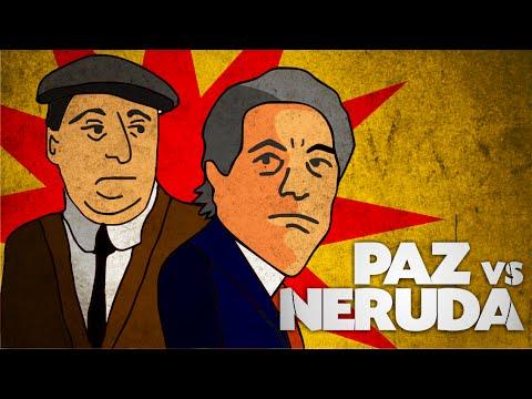 Pablo Neruda VS Octavio Paz: Separados por Stalin