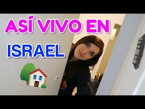 Así vivo en Israel, Housetour . Cuánto pago de renta, agua, luz, gas ?