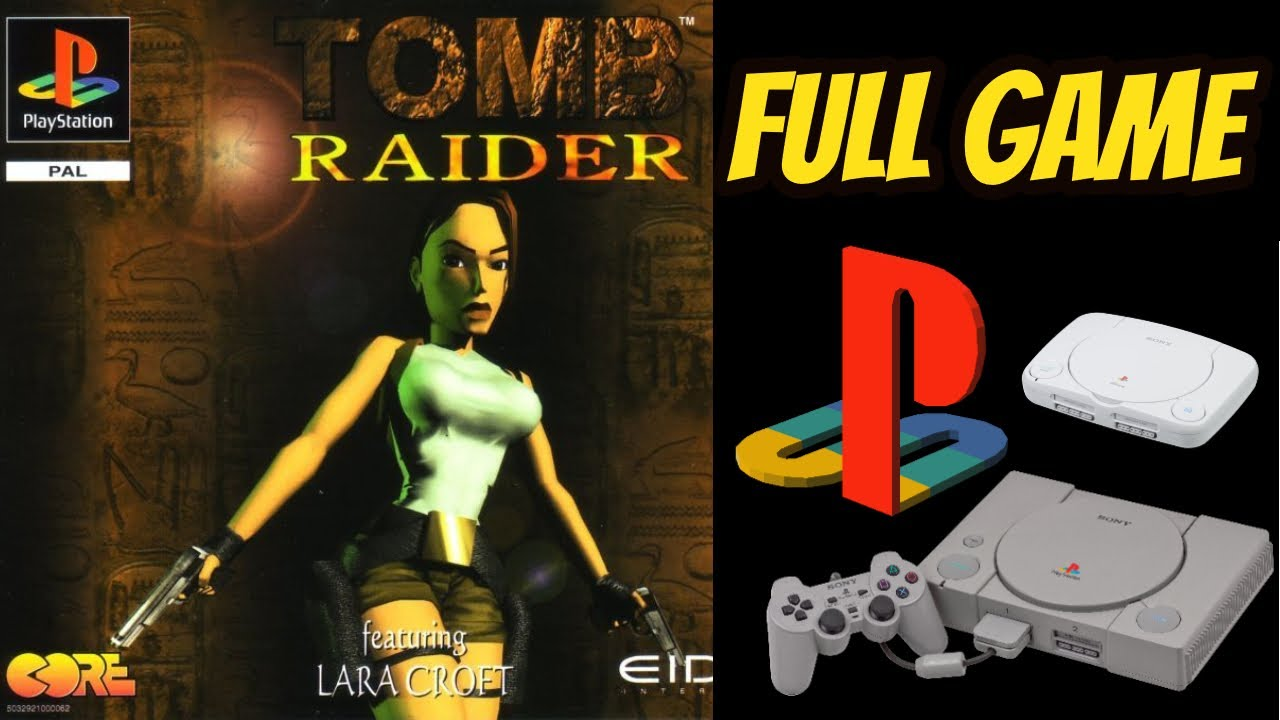 Tomb Raider Ps1 100 All Secrets Walkthrough Longplay No