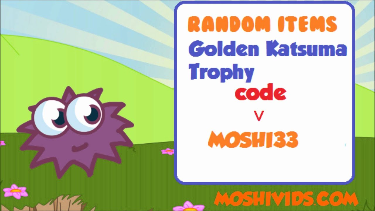 Moshi Monsters Secret Codes - All Items - YouTube