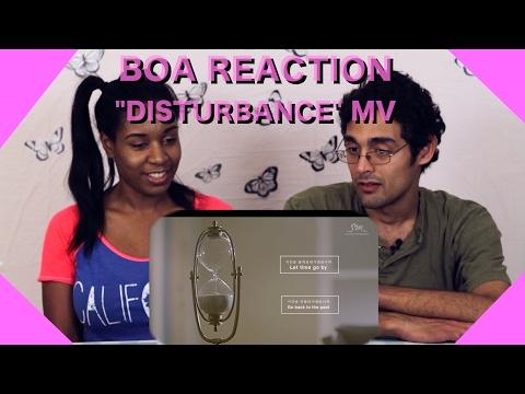 [Boyfriend Reacts] BoA 보아_그런 너 (Disturbance)_Music Video