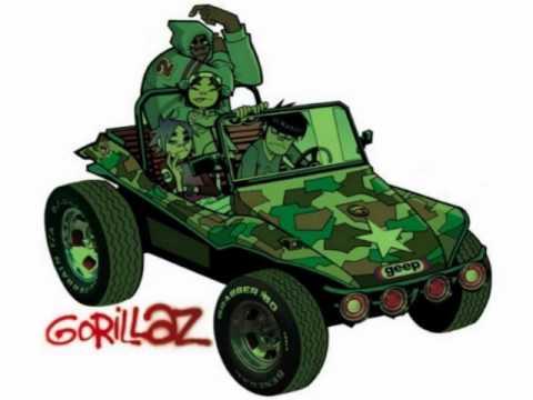 Gorillaz - Man Research - Gorillaz