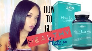 How to Get Healthy Natural Hair with Hair La Vie & Giveaway