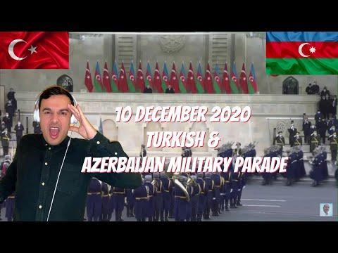 Italian Reaction To 🇹🇷 🇦🇿 10 December 2020 Turkish & Azerbaijan Military Parade