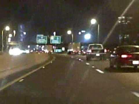 Louisville Freeway Tour: Downtown at Night