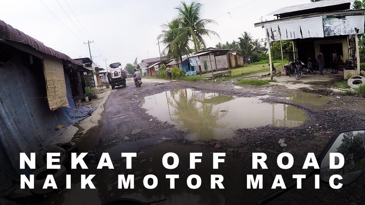 Berani Off Road di  Jalan Hamparan Perak Ini?