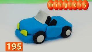 Машинки Игрушки Пластилин Кабриолет Мультфильм Город Машинок 195  Мультики для детей Видео mirglory