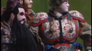 1983年放送 人形劇三国志 第56回 「関羽の涙」より 声の出演者 石橋蓮司...