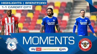HIGHLIGHTS | BRENTFORD vs CARDIFF CITY