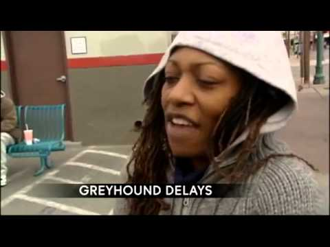 Greyhound passengers stranded in Downtown El Paso