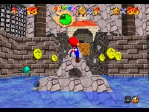 go to town for red coins mario 64