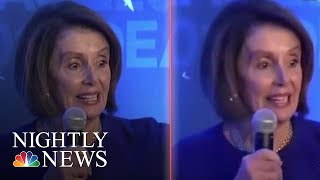 Edited Nancy Pelosi Video Highlights Concerns About Misinformation And Elections | NBC Nightly News
