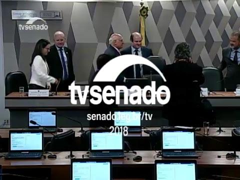 CCJ - Voto impresso - TV Senado ao vivo - 13/03/2018