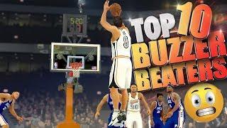 TOP 10 Clutch Comebacks & Buzzer Beater Game Winners! - NBA 2K17 Highlights