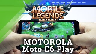 Mobile Legends Short Gameplay na Motorola Moto E6 Play - test gry