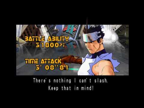 Plasma Sword  - Star Gladiator II (Dreamcast) - Hayato Gameplay [Arcade Mode]