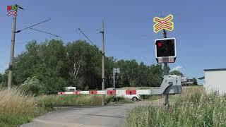 Železniční přejezd Kynšperk nad Ohří-Chotíkov - 6.7.2021 / Czech railroad crossing