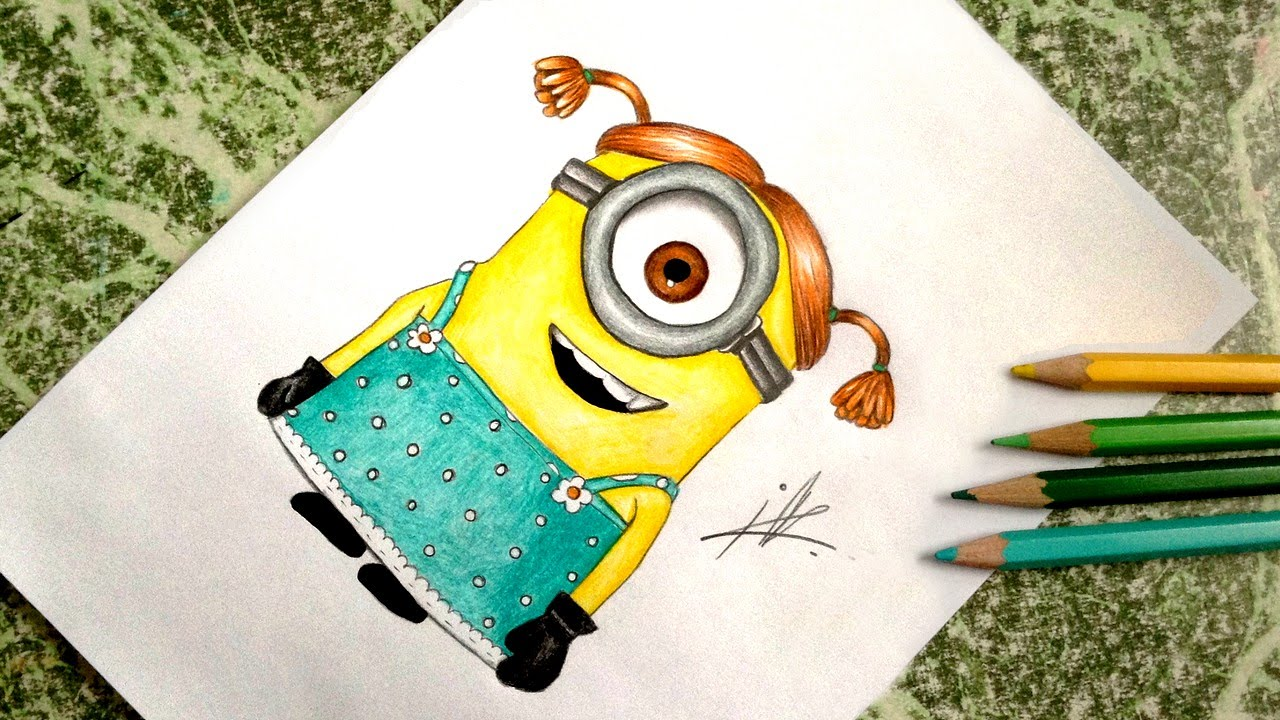Show me how to draw a minion - Show Me How To Draw A Minion 42