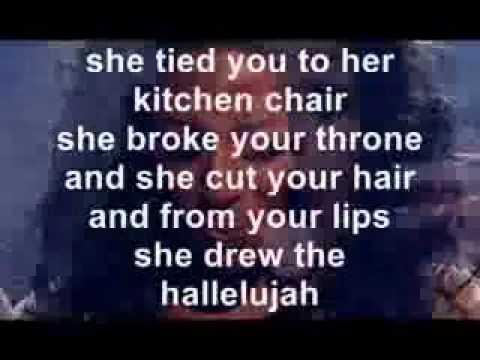 Alexandra Burke - Hallelujah Lyrics
