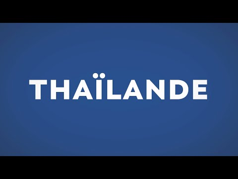 Votre prochaine destination... la Thaïlande !