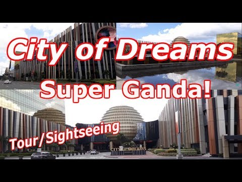 WATCH! The amazing City of Dreams Manila, walking tour 2018, in Metro Manila, Philippines