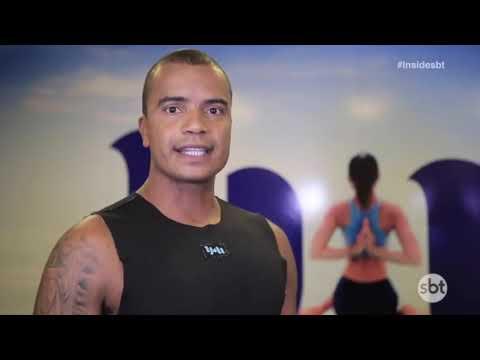 PROGRAMA INSIDE SBT- Yoga & Meditação na preparação do lutador do UFC Vinicius Mamute.
