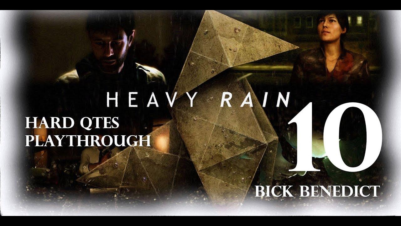 "Heavy Rain | ""Hard QTEs"" Playthrough | Chapter 10 ""Madison ..."