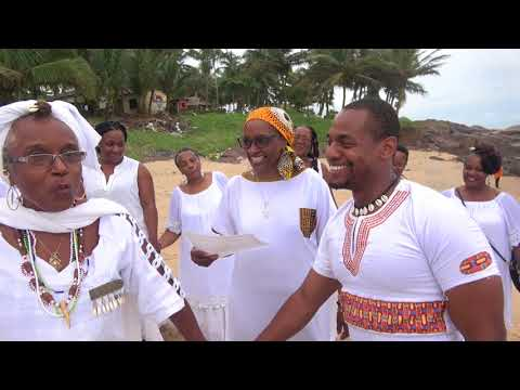 Naming Ceremony on One Africa Beach - Ghana Tour May 2017