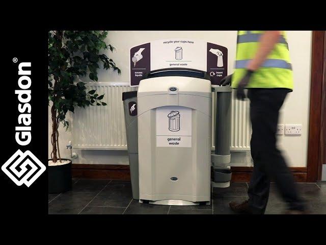 Glasdon International | Nexus® 100 recycling stations