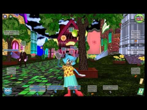 Toontown Nightlife Music - Daisy's Garden Streets