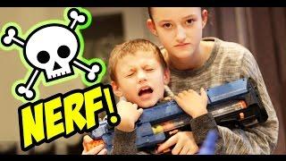 NERF GUN DEATH MOD!!!