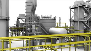3D Animation Of Oil Refinery for SABIC By Square Pixel Studios