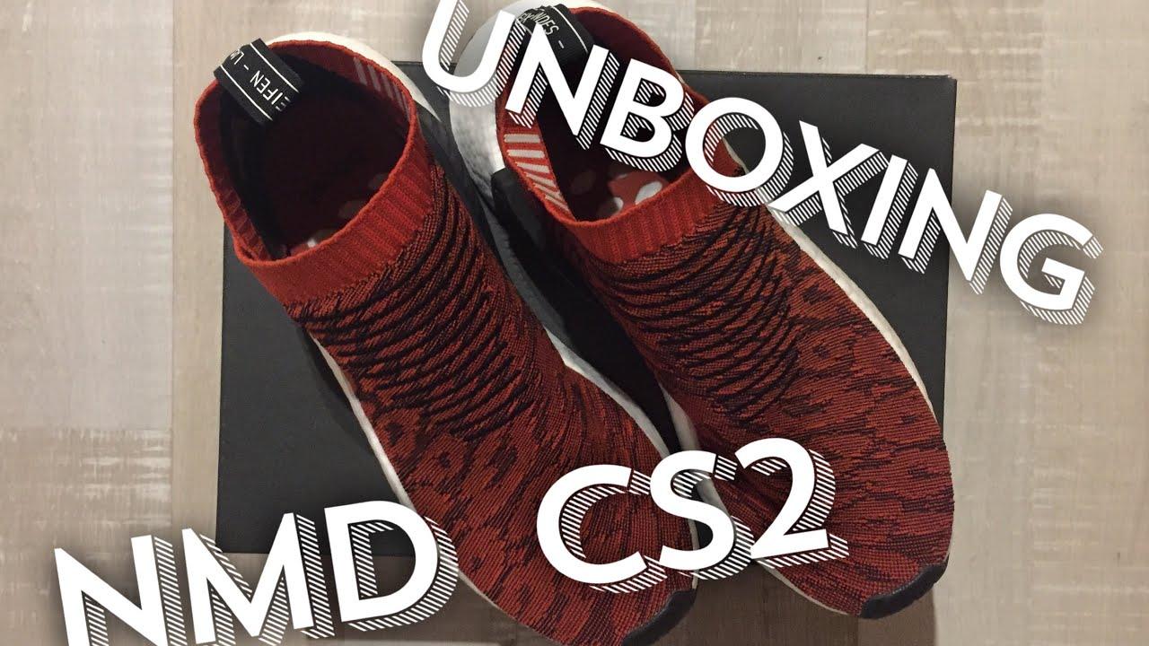7f06ae449 Adidas Originals NMD CS2 PK RED GLITCH