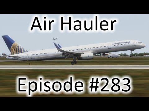 FSX | Air Hauler Ep. #283 - Finally Going Back to Detroit! | 757-300