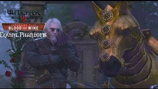 The Witcher 3 Blood and Wine Walkthrough Part 24 Equine Phantoms