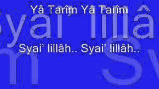 Teks Qasidah Ya Tareem - Nurul Musthofa New