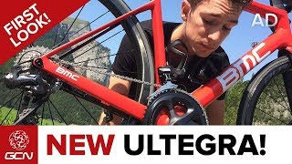 NEW Shimano Ultegra Groupset – GCN's First Look At The Tech