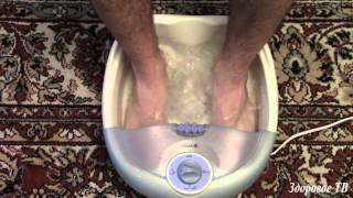 Обзор массажной ванночки для ног. Стоит ли покупать???