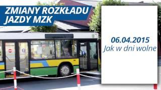 TKB Zmiany w rozkładzie jazdy MZK 02 04 2015