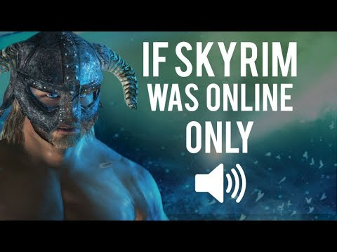If Skyrim Was Entirely Online | IRGP